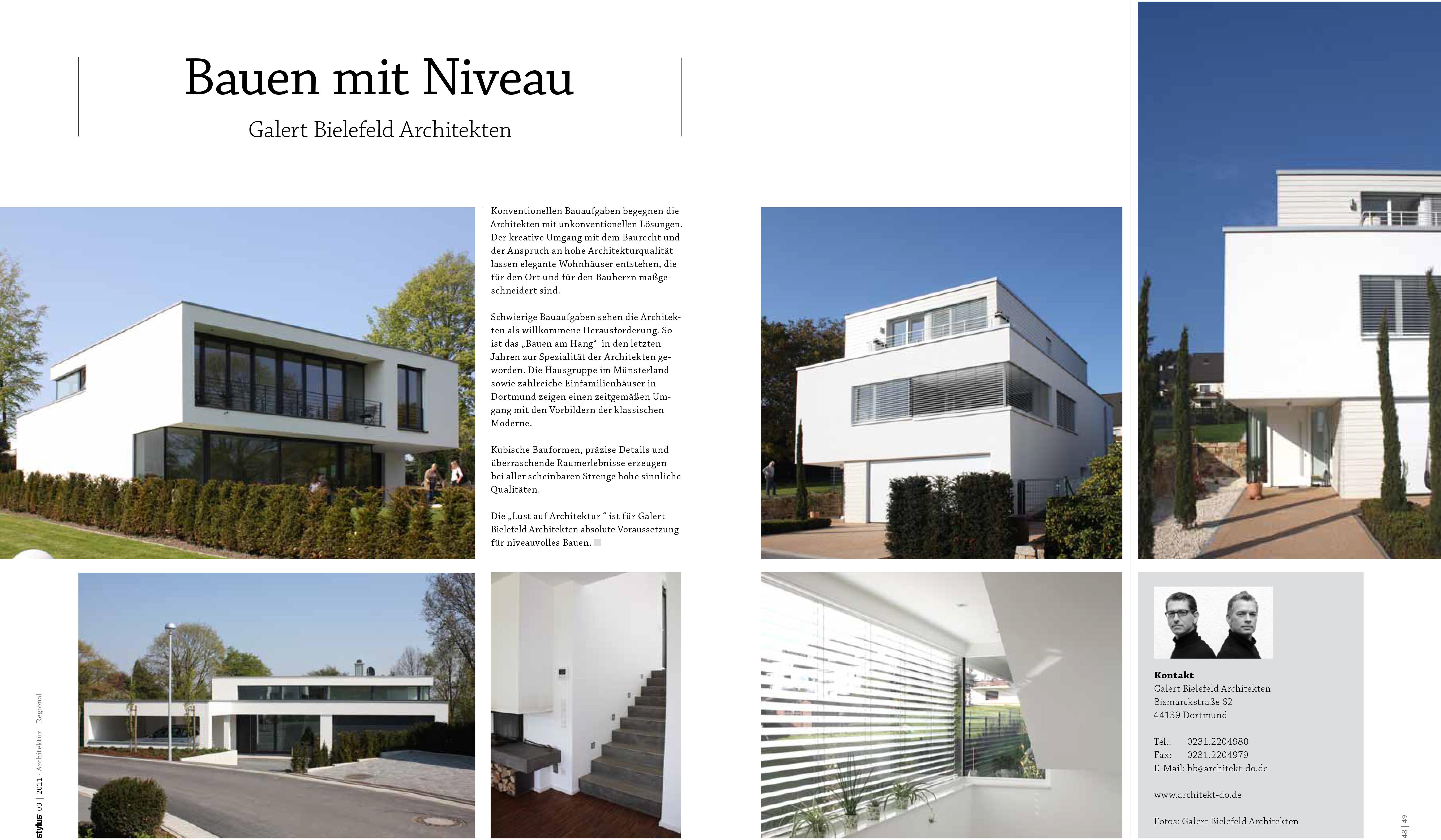 Die U201eLust Auf Architektur U201c Ist Für Galert Bielefeld Architekten Absolute  Voraussetzung Für Niveauvolles Bauen.